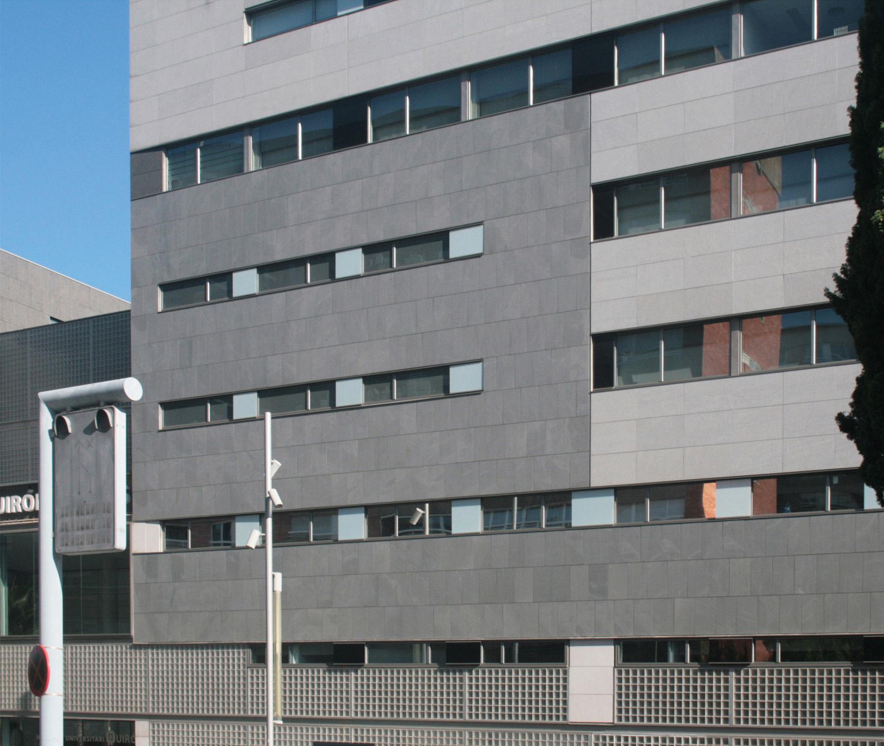 Facade: Horizontal Strips At Dexeus Facade (035)